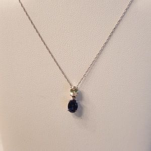 Jewelry - Lab-created Sapphire and cubic zirconia